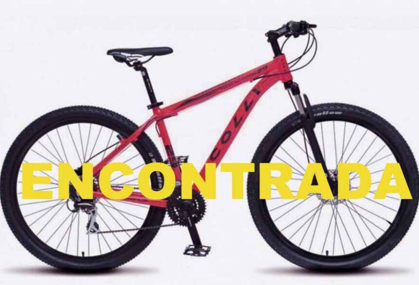 Bike Colli nova  encontrada