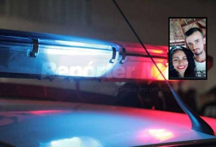 Alex Messias da Silva, de 24 anos, e Karina Fernandes Andrade, de 22 anos, foi assassinado