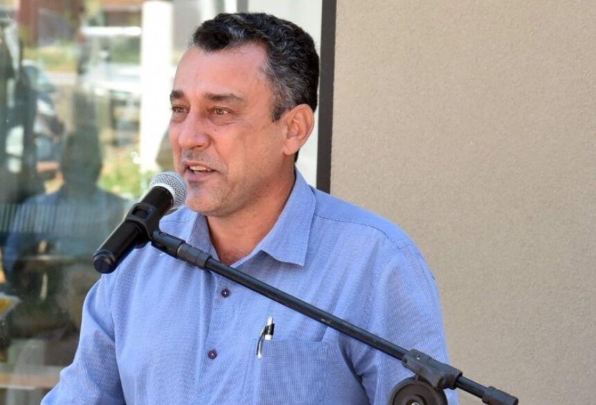 Prefeito Aristeu Pereira Nantes (Patriota) - Foto Adauto Dias / Dias MS