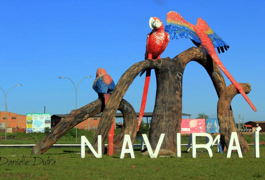 Entrada da cidade de Navirai