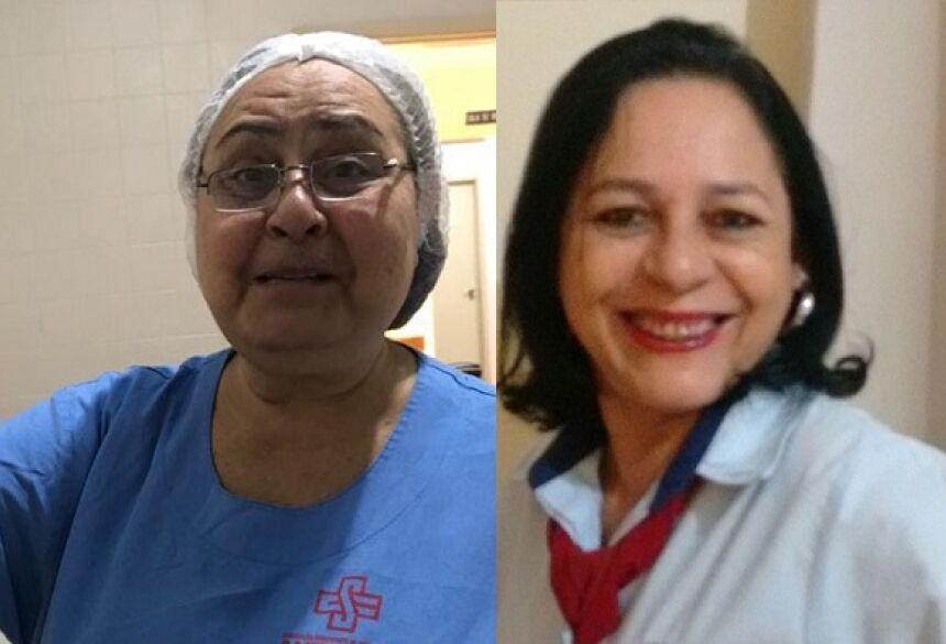Dirce Carvalho Barbosa, de 65 anos e Rosangela Maria Teixeira Delmondes, 57 anos, estavam internadas no hospital.