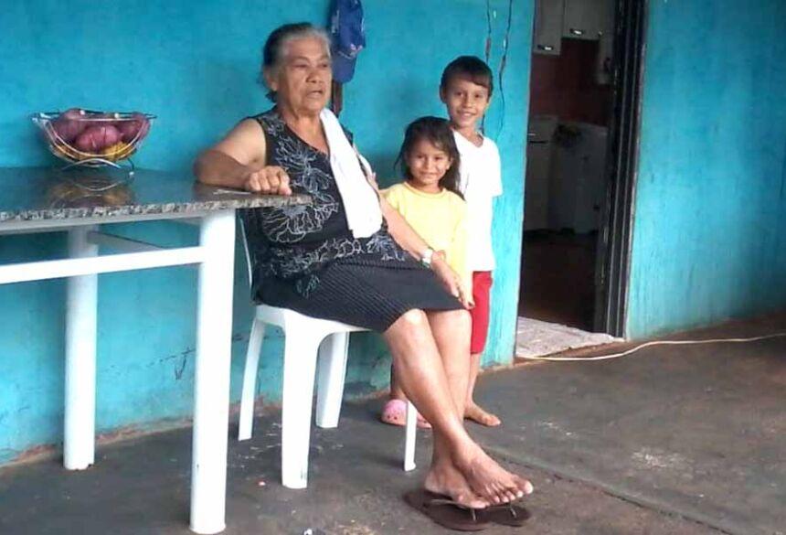 Laura Ferreira Lima (in memorian) com netos