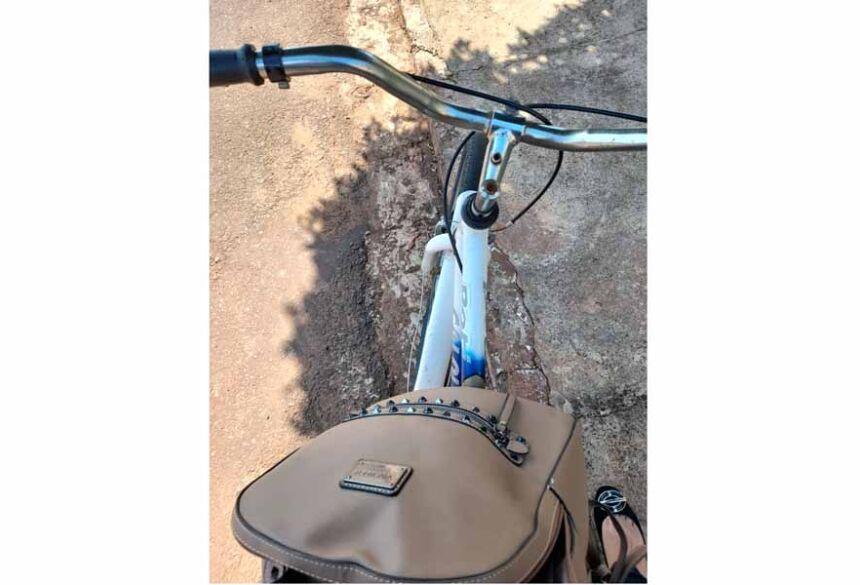 Bicicleta que estava a bolsa