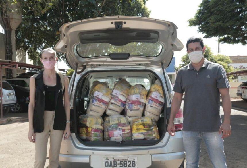 Multas por terrenos sujos são transformadas em cestas básicas para população de Rio Brilhante