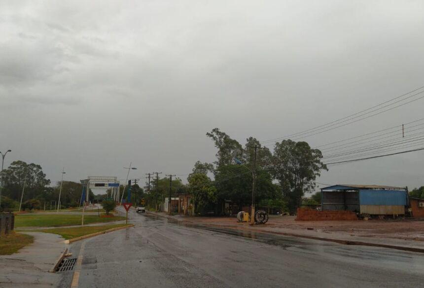 Vista parcial da Orla de Fátima do Sul
