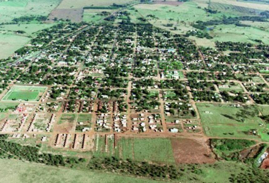 Vista aérea de Juti (Foto: Divulgação/Câmara Municipal)