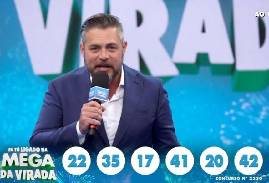 Mega da Virada  Foto: Reprodução/TV Globo