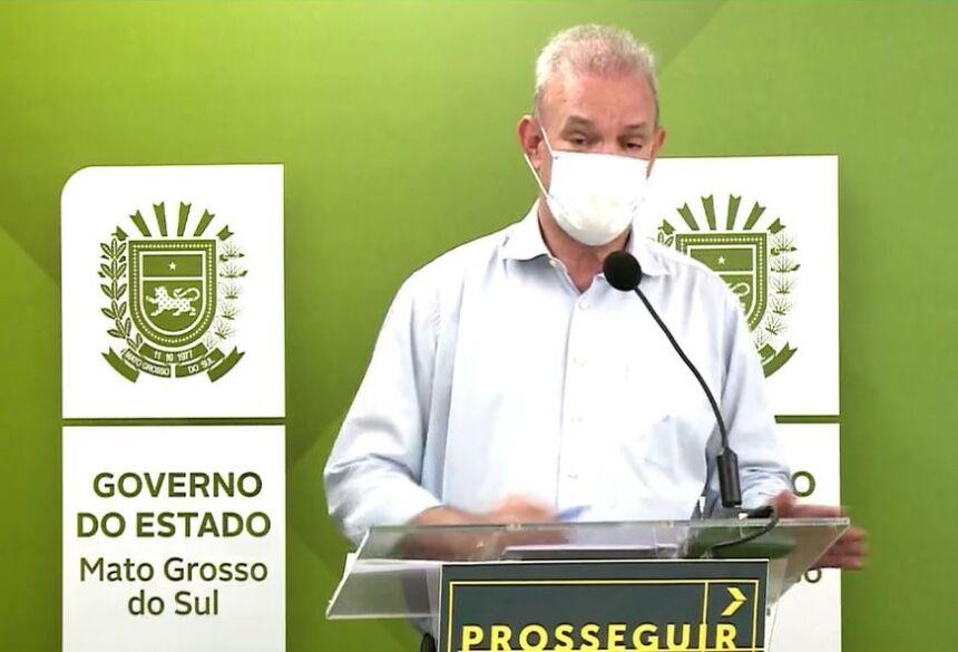 Secretário estadual de Saúde de MS, Geraldo Resende  Foto: Redes Socias/Reprodução