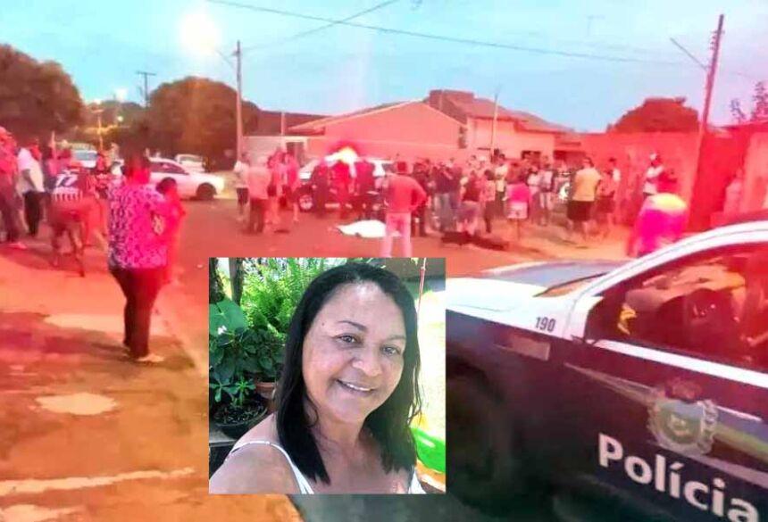 Geovana Marques Estigarribia, de 47 anos, morreu na tarde deste sábado