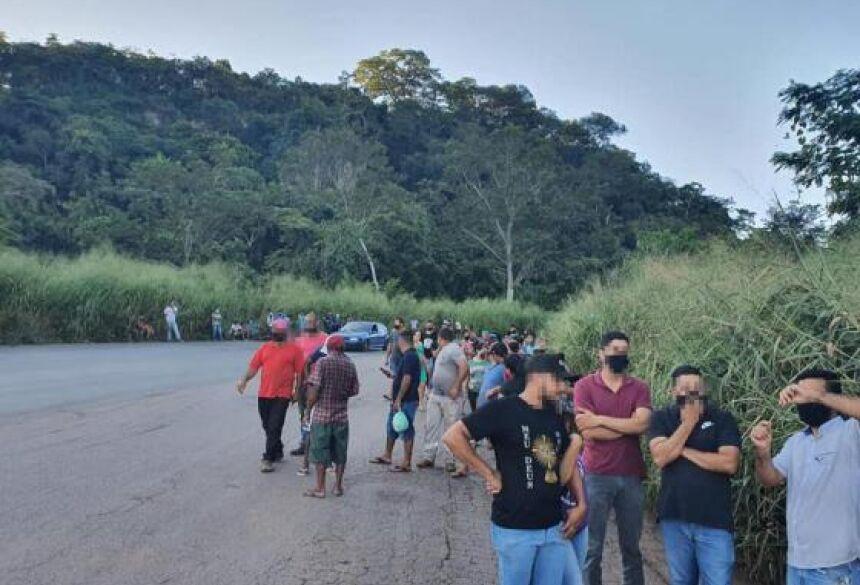 Caso foi registrado próximo ao município de Nova Olímpia.