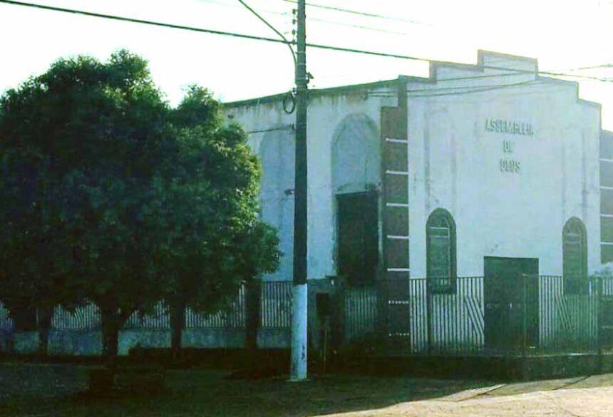 Igreja Assembleia de Deus de Mato Grosso do Sul em Caarapó. Foto: Lucas Saucedo