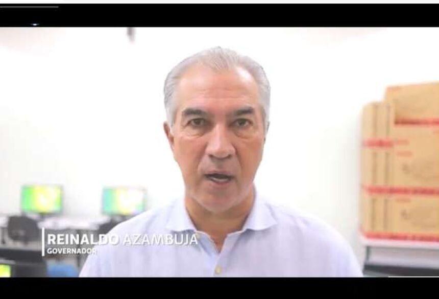 Governador de MS- Reinaldo Azambuja - Crédito: Reprodução Facebook