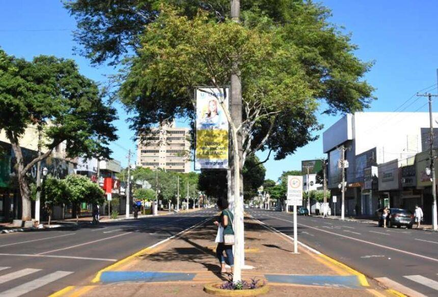 Toque de recolher terá vigência durante todo o dia em Dourados - Crédito: Hedio Fazan/ Dourados News/ Arquivo