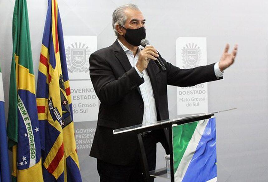 REINALDO AZAMBUJA - GOVERNADOR DE MS