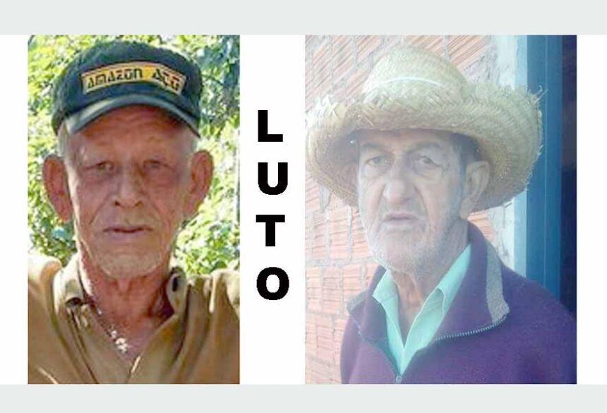 Elio Ferreira da Silva e Tito Zandona, antigos moradores do Distrito de Culturama