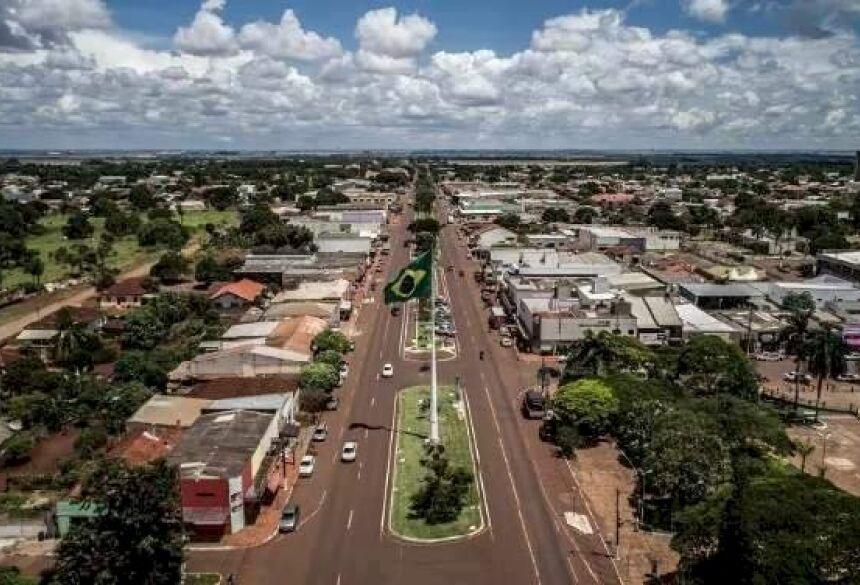 Sidrolândia, município a 71 quilômetros de Campo Grande, decidiu não acatar medidas recomendadas pelo Estado (Foto: Reprodução)