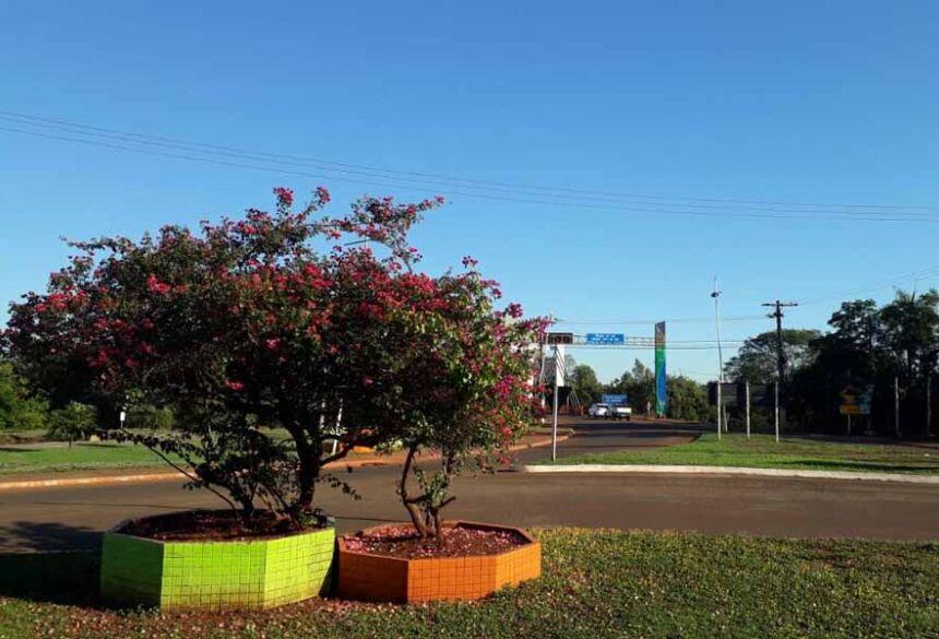 Entrada da cidade de Fátima do Sul