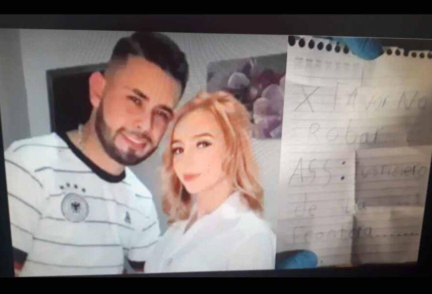 Mateo e Anabel. Foto: Redes sociais/ Polícia paraguaia