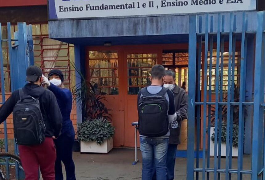 ESCOLA ESTADUAL VICENTE PALLOTTI EM FÁTIMA DO SUL