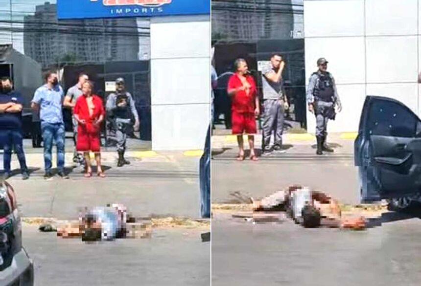 Bandido foi baleado ao trocar tiro com a Rotam e guarnição da PM