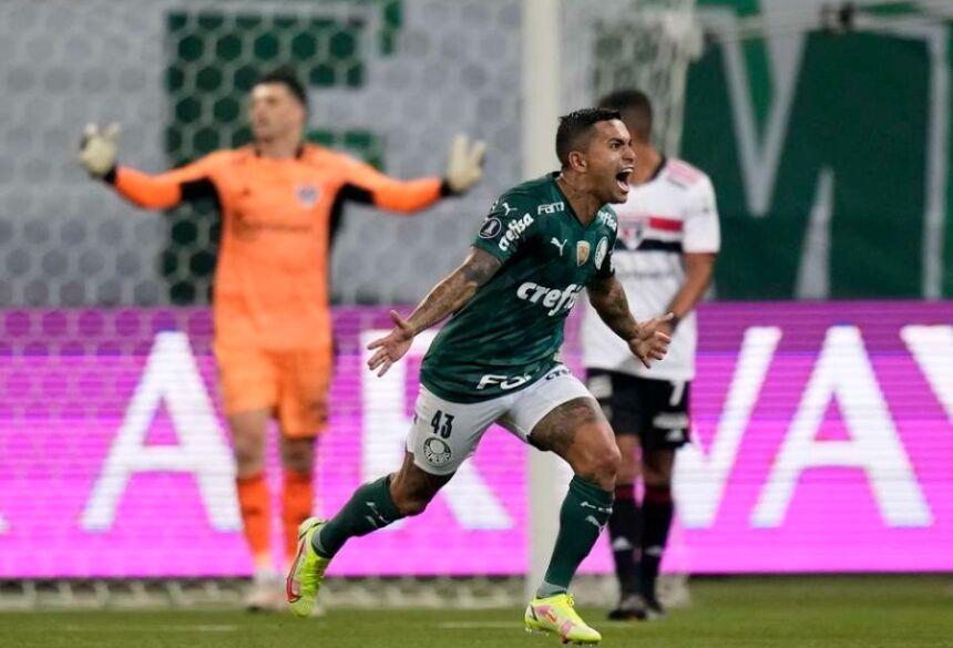Palmeiras atropela o São Paulo e vai à semi da Libertadores. Foto: Andre Penner