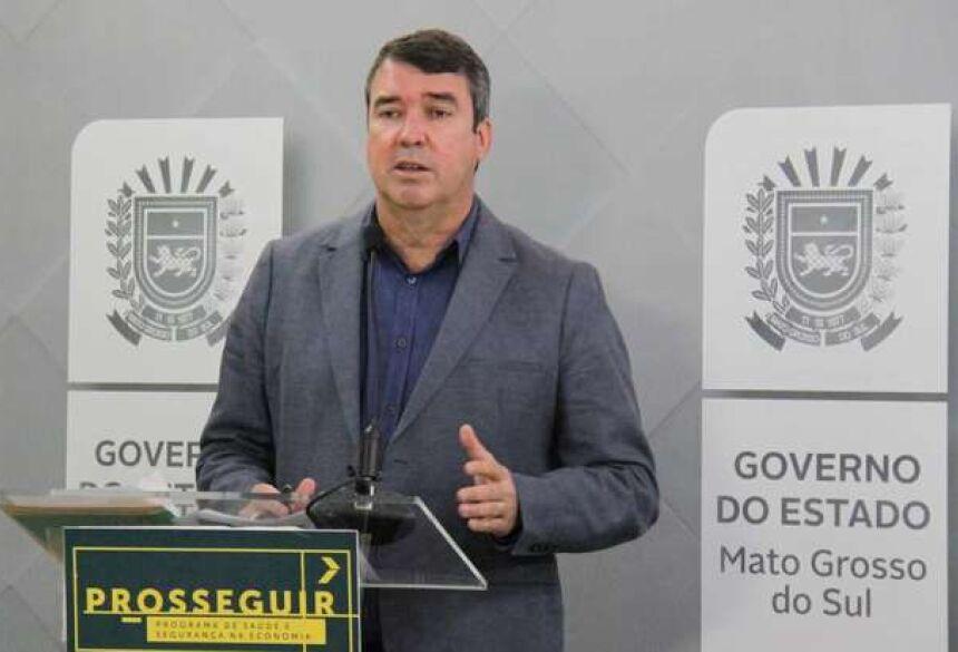 Secretário de Infraestrutura Eduardo Riedel - Crédito: Silas Lima