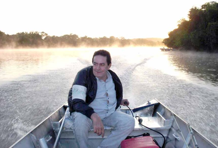 Dr. Antonio Quilis em uma pescaria