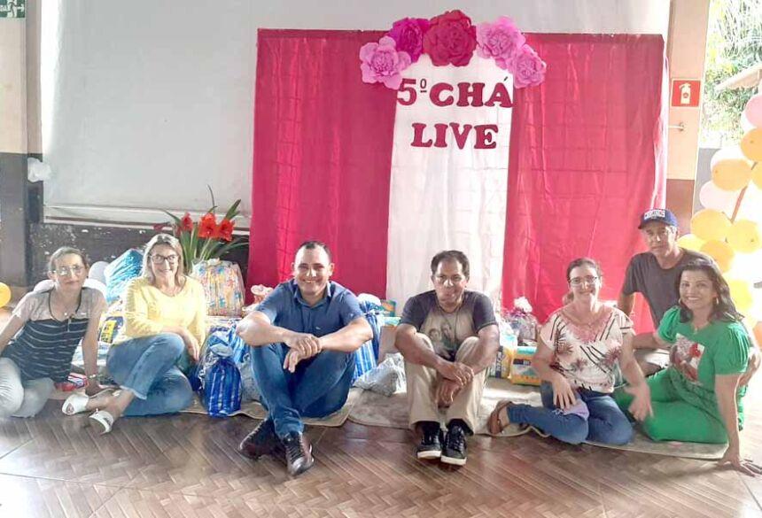 Organizadores do 5 cha live em Culturama