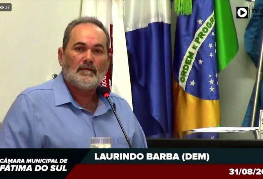 VEREADOR LAURINDO BARBA