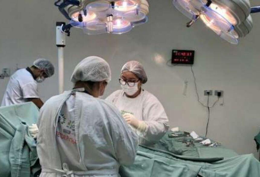 São 94 tipos de procedimentos cirúrgicos e 66 tipos de exames de média e alta complexidade - Crédito: Ascom/SES