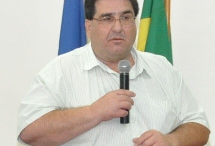 Prefeito Arceno Athas, de Glória de Dourados (Foto: Rogério Sanches / Fátima News)