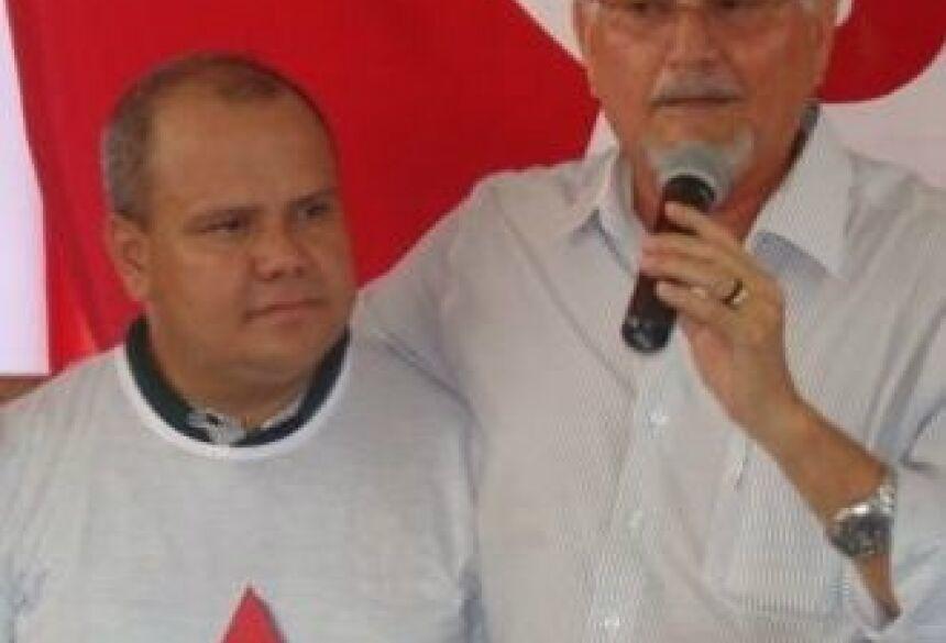 Nicácio Cantero e Zeca do PT (Foto: Divulgação)