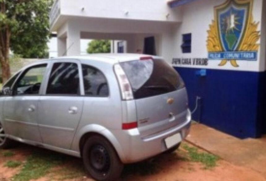 Veículo foi furtado na capital e recuperado pela polícia - Foto: Divulgação