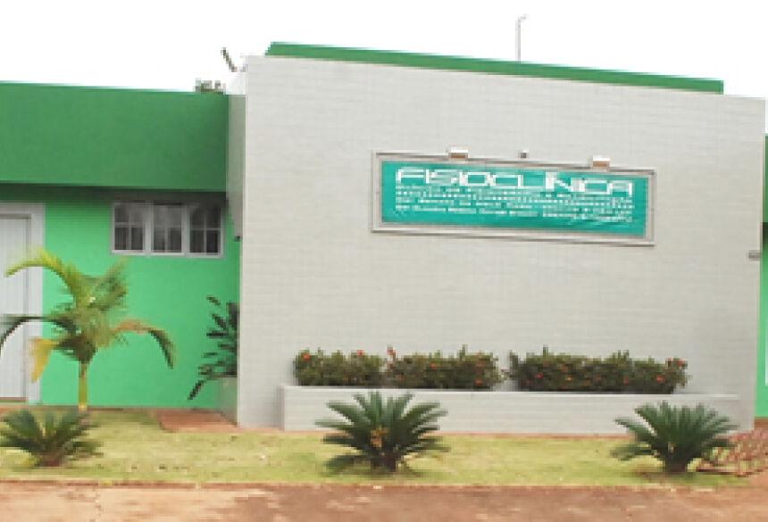 Fisioclínica de Fátima do Sul (FOTO: ROGÉRIO SANCHES / FÁTIMA NEWS).