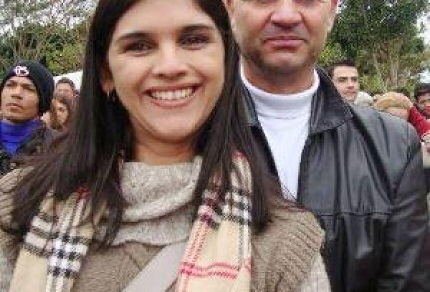 Maria Clara e seu esposo Braz Bueno - Foto: Facebook