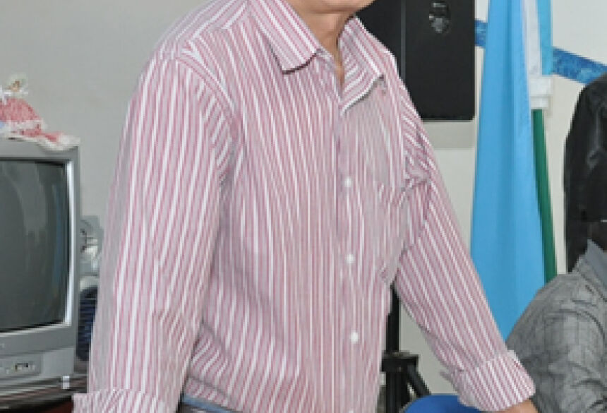 Prefeito Hélio Sato (Foto: Rogério Sanches / Fátima News)