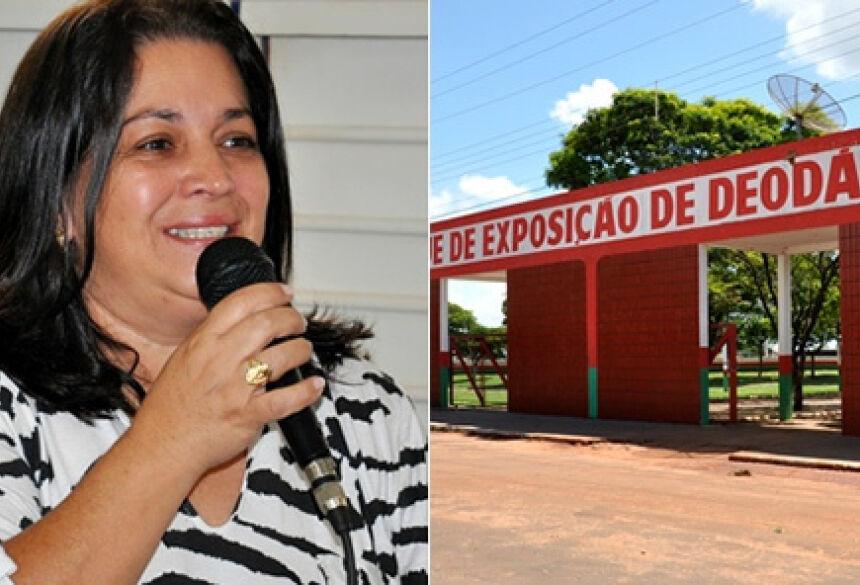 Prefeita do município de Deodápolis, Maria das Dores Viana (Foto: Eliton Santos Impacto News)