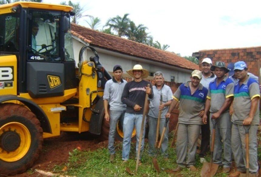 Equipe está focada e pede ajuda a população para juntos combater a dengue (Foto: Fátima News)