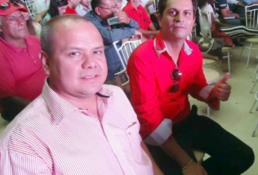 Vereador Juninho Anselmo com Nicácio Cantero em Dourados