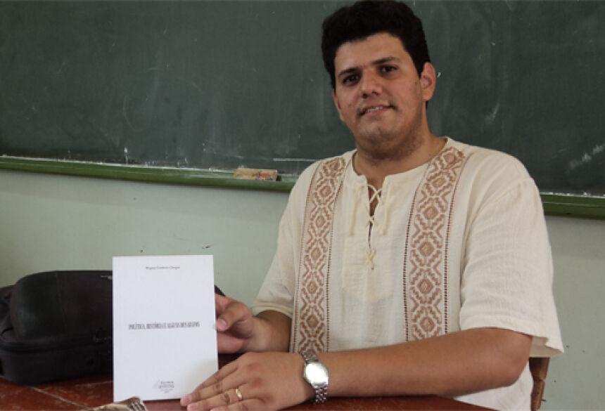 Professor de História de Fátima do Sul, Wagner Cordeiro Chagas