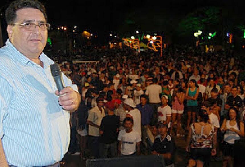 Prefeito Arceno Athas - FOTO: DEMERVAL NOGUEIRA / FÁTIMA NEWS