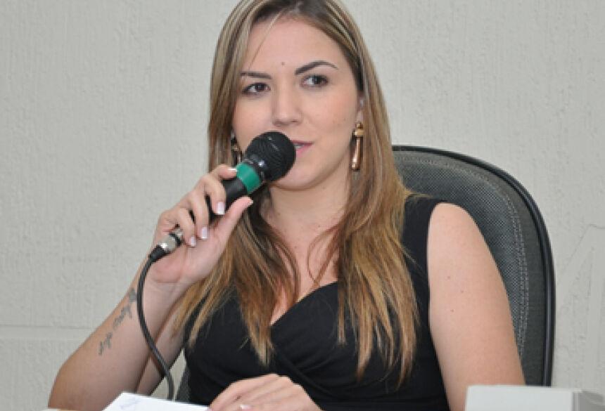 Presidente Karenn Ramsdorf - (Foto: Rogério Sanches / Fátima News)