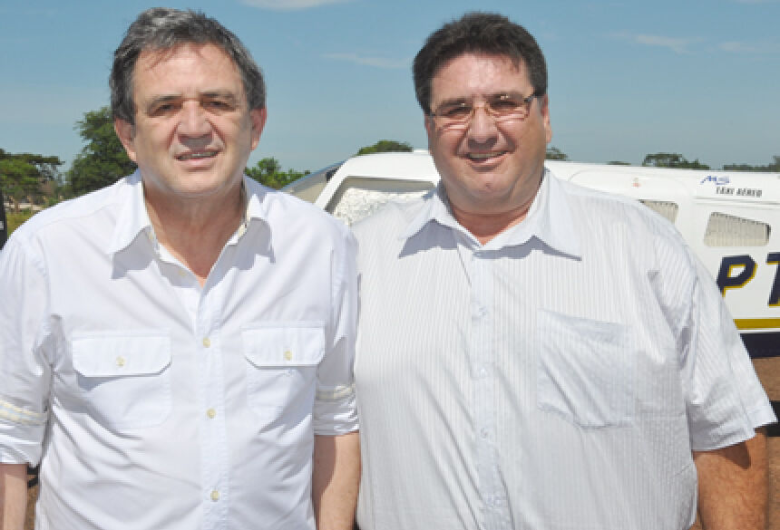 Moka e Arceno em Glória de Dourados (Foto: Rogério Sanches / Fátima News)