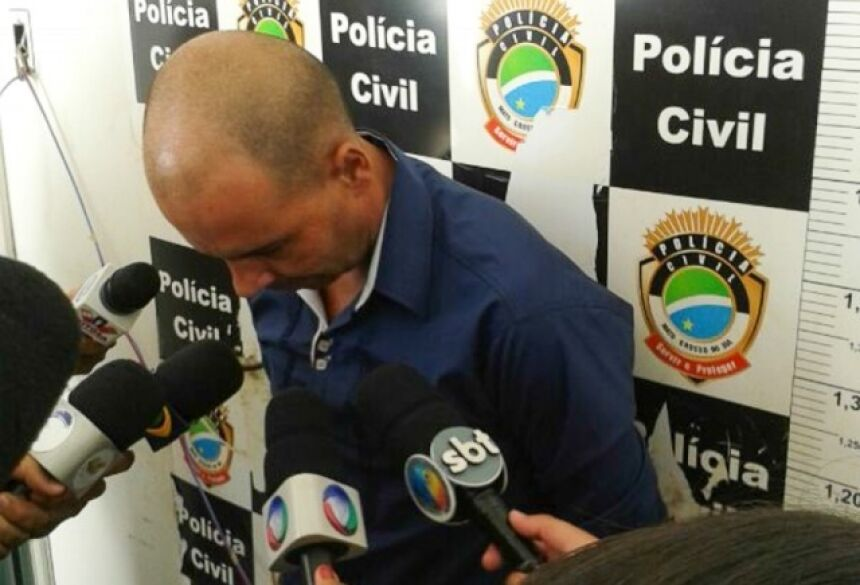 Julio confessou ter matado a ex-mulher (Foto: Aliny Mary Dias)