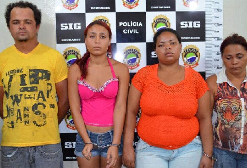Carlos Euvani, Raimara Carielle, Cleonides Glória e Maria Onice. Foto: Sidnei Bronka