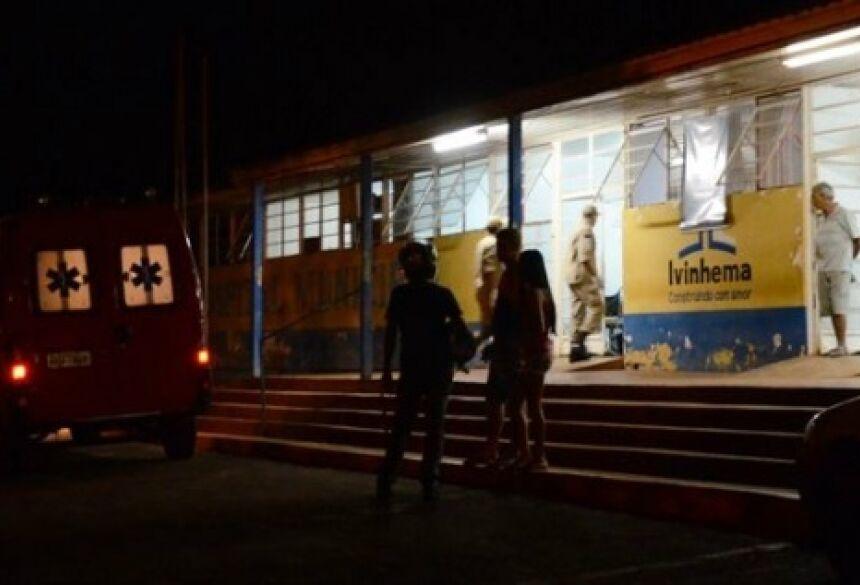 Foto: Ivi Notícias - Vítima foi encaminhada ao Hospital
