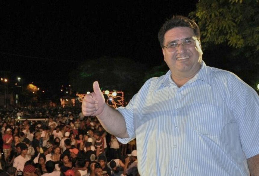 Prefeito Arceno Athas Júnior da cidade de Glória de Dourados - Foto: Demerval Nogueira / Fátima News