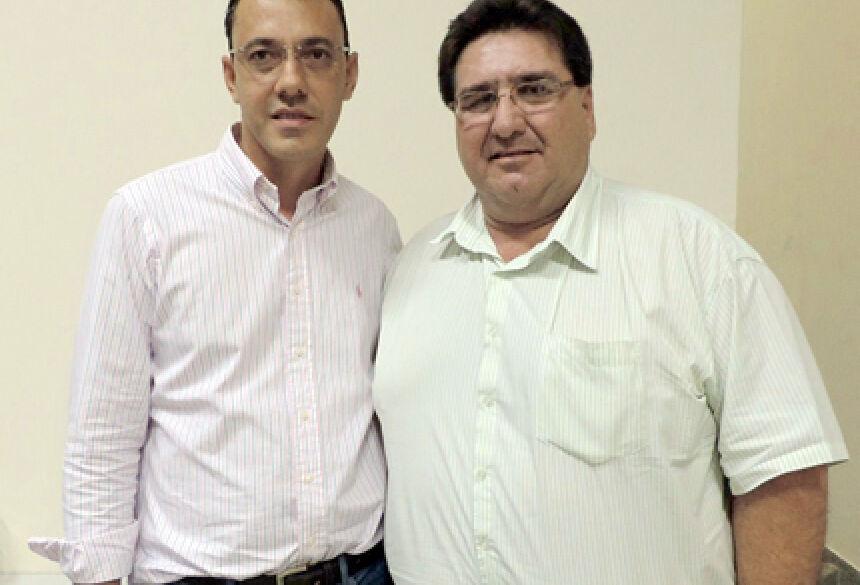 Prefeito Arceno com secretário Fausto - Foto: Demerval Nogueira
