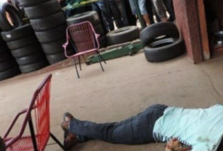 Vítima foi morta por dois pistoleiros. Foto: Amambay 570 AM