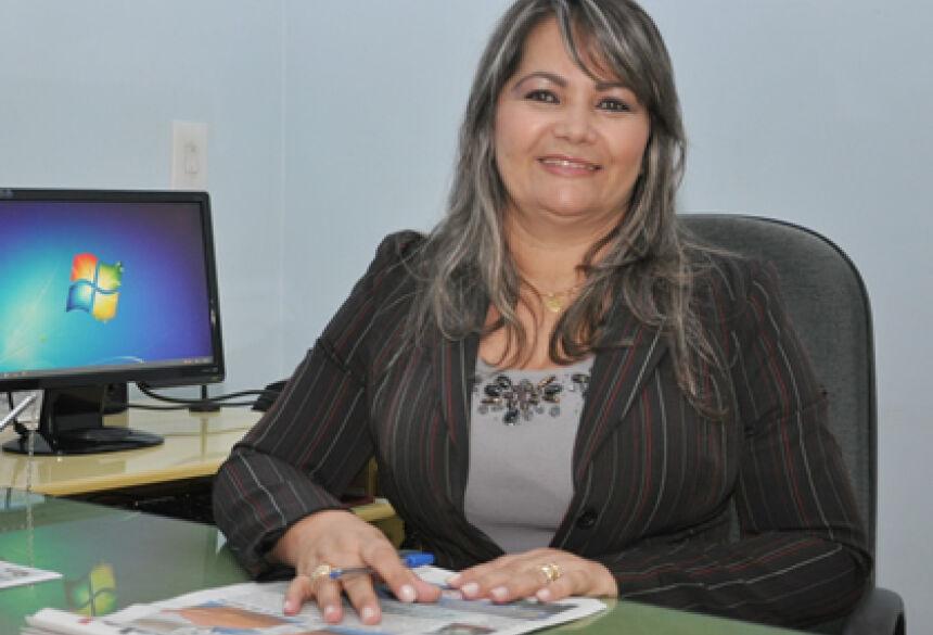 Vereadora Presidente, Rose Mônica - Foto: Rogério Sanches / Fátima News